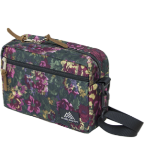 GREGORY 65378-0511/57830 PADDED SHOULDER POUCH L/GARDEN TAPESTRY