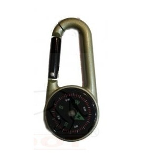 K27T CARABINER WITH COMPASS 掛扣指南針