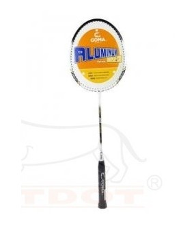GOMA 10B-B950 BADMINTON RACKET WITH 3/4 COVER