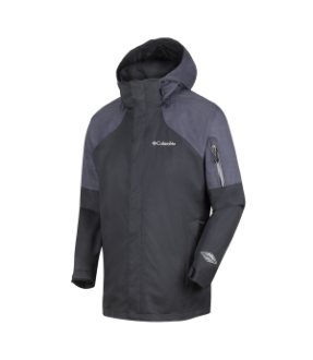 COLUMBIA 1656822 MEN'S HEATER CHANGE JACKET