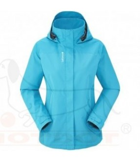 LAFUMA LFV11372-8410 WOMEN'S WAY JACKET/CARIBBEAN BLUE
